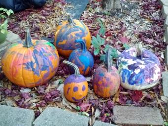 finished pumpkins
